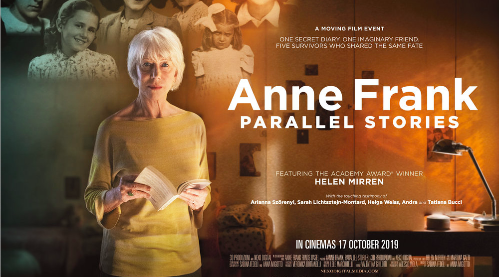 Anne Frank: Parallel Stories - Encore Screening - Tue 31st Mar - Adelaide