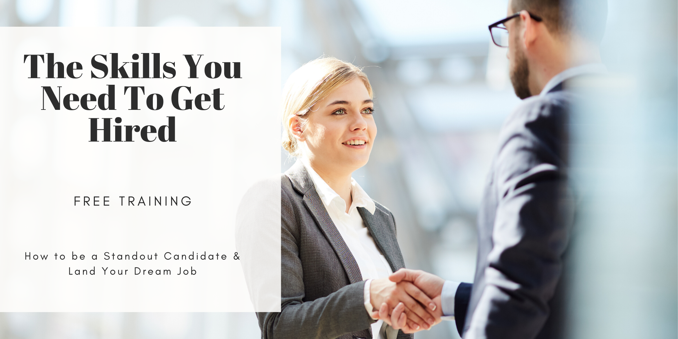 TRAINING: How to Land Your Dream Job (Career Workshop) Victoria