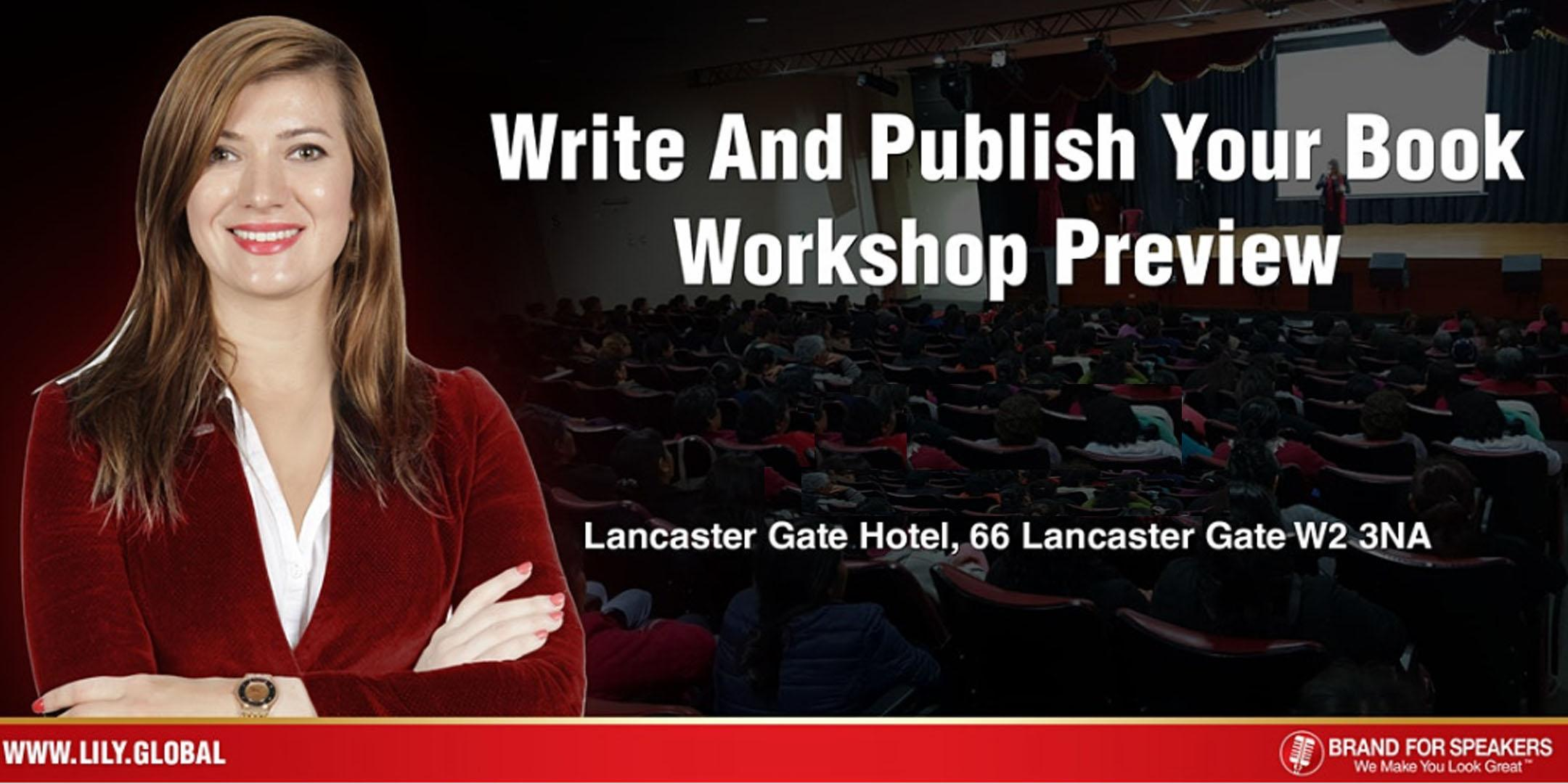 Want To Raise Your Influence? Become An Author Workshop 11 April 2020 Noon
