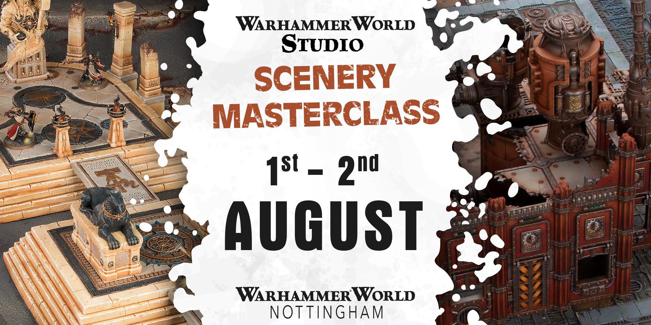 Warhammer World Studio Scenery Masterclass