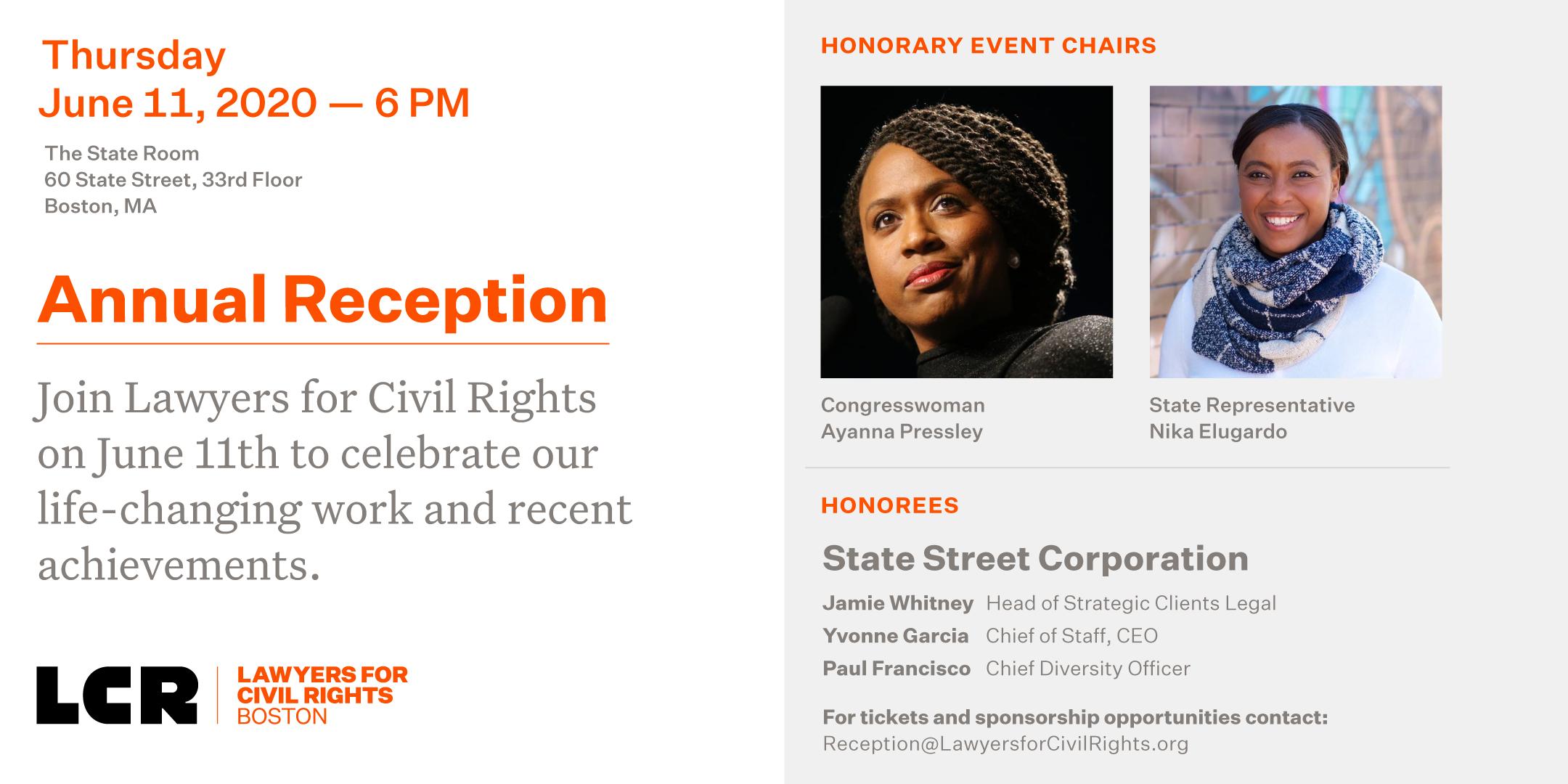 Civil Rights Reception