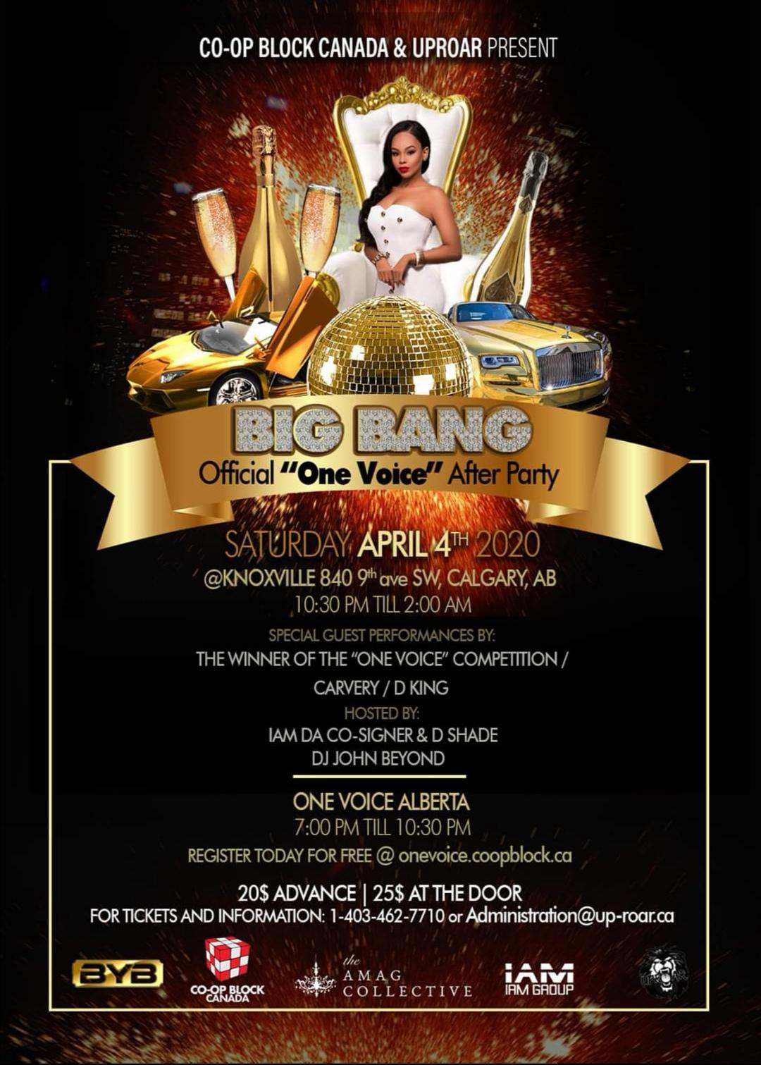 One Voice & Big Bang After Party