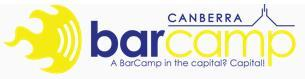 BarCamp Canberra 2010