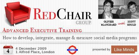 RED CHAIR (UK): Advanced Social Media Training