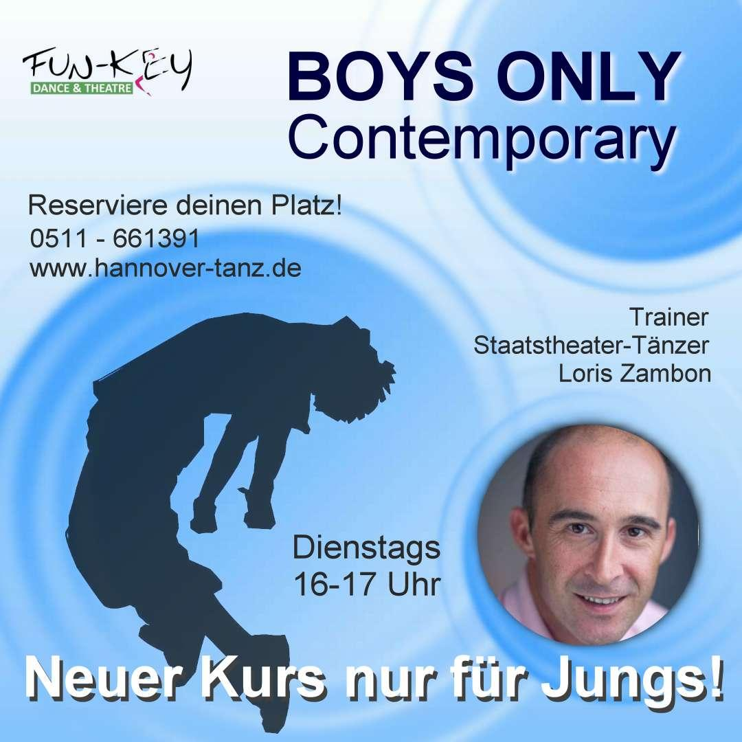 BOYS ONLY - Contemporary im Fun-Key Dance & Theatre