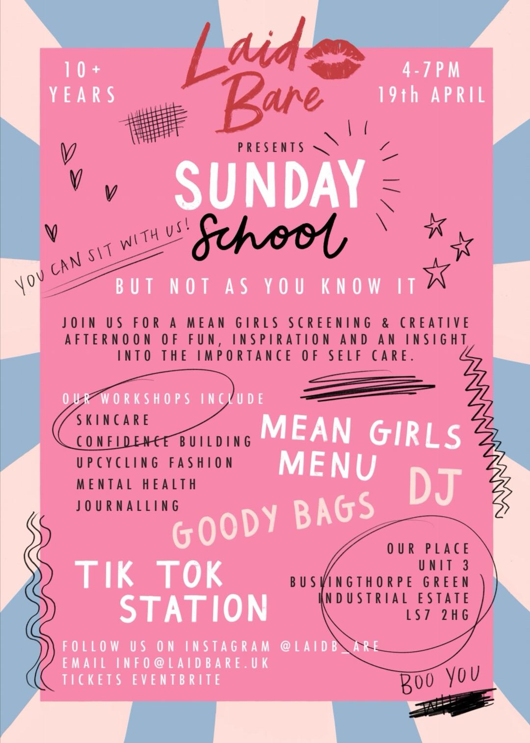 Laid Bare Sunday School