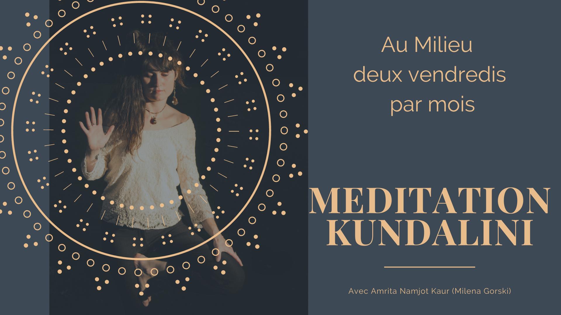 [FACEBOOK LIVE ] Méditation Kundalini