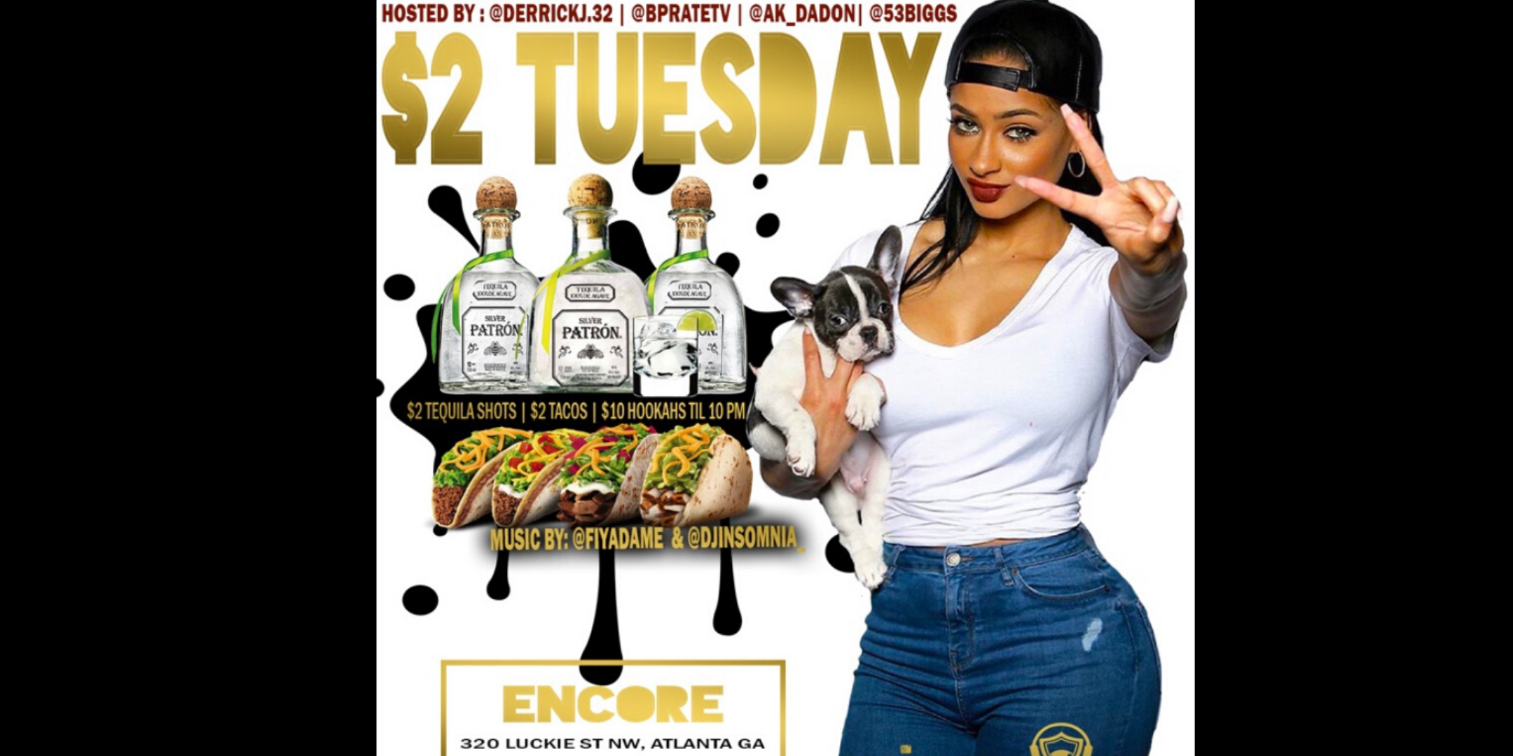 The BEST $2 Tuesday in the City feat $2 Tacos and MORE @Encoreatl
