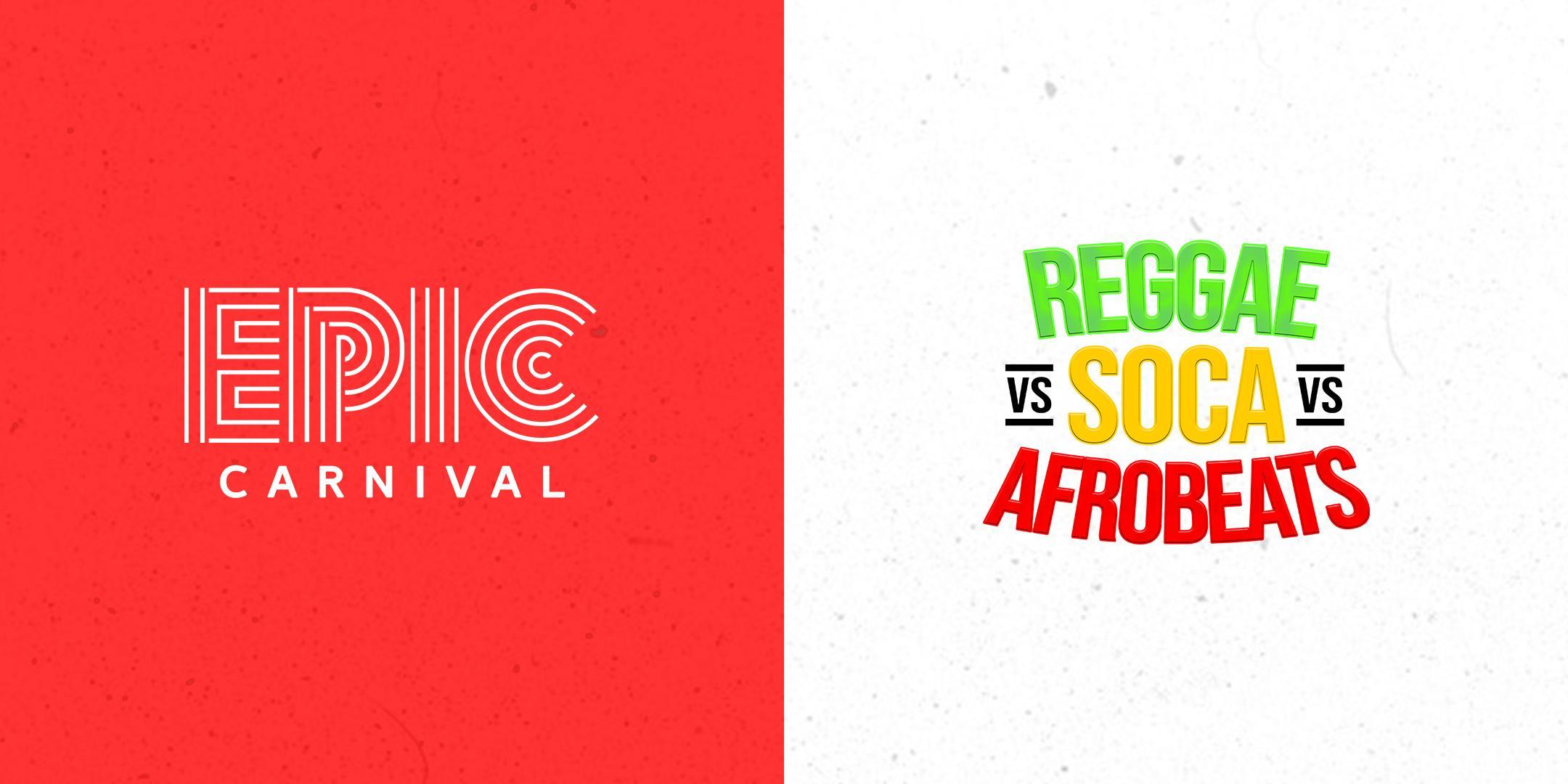 The Ultimate REGGAE vs SOCA Atlanta Carnival (INDOOR / OUTDOOR)
