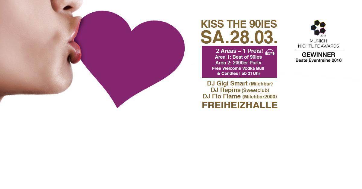 Kiss the 90ies - Münchens größte 90er Party