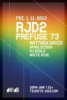 RJD2 + PREFUSE 73