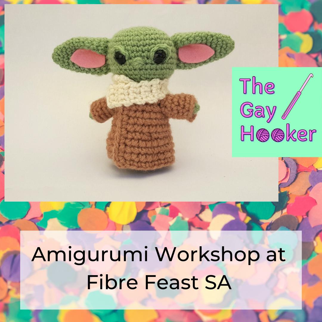 Baby Alien - Amigurumi Workshop @ FibreFeastSA2020