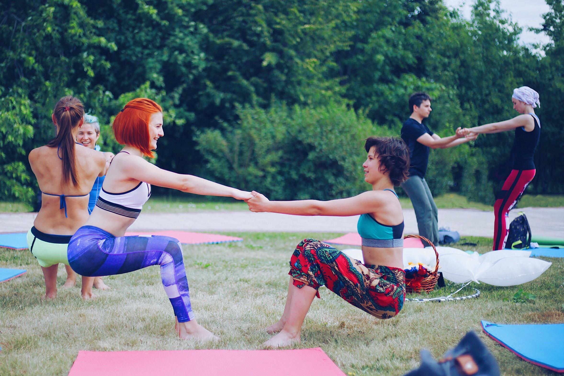 Chill + Cocoa: Yoga in Central Park