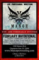 Manor February Invitational