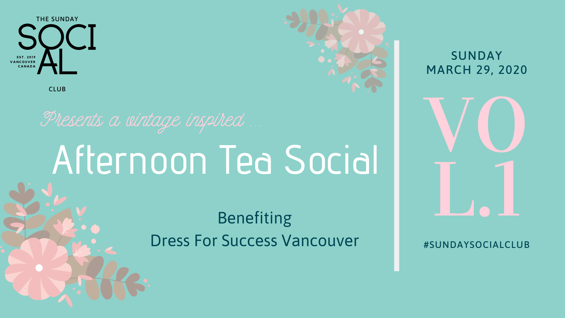 An Afternoon Tea Social Benefiting Dress For Success Vancouver