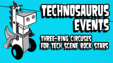 TECHNOSAURUS EVENTS logo