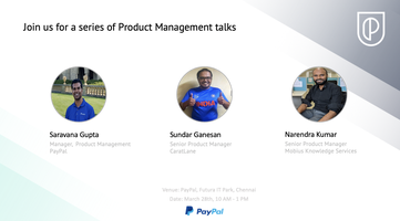 Product Management Talk Series