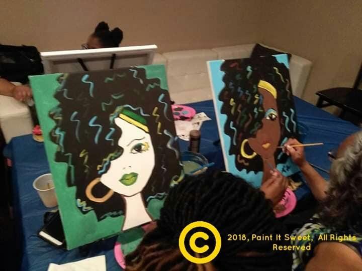 R&B Paint N' Sip