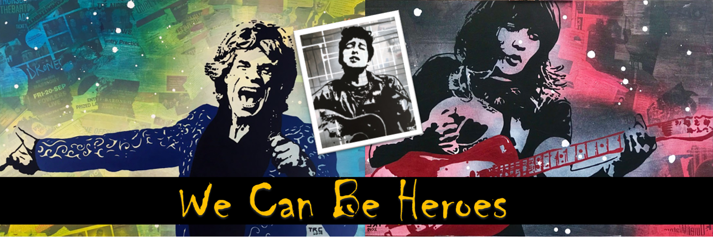 Art Exhibition: We Can Be Heroes - Artist Tessa Cavaggion