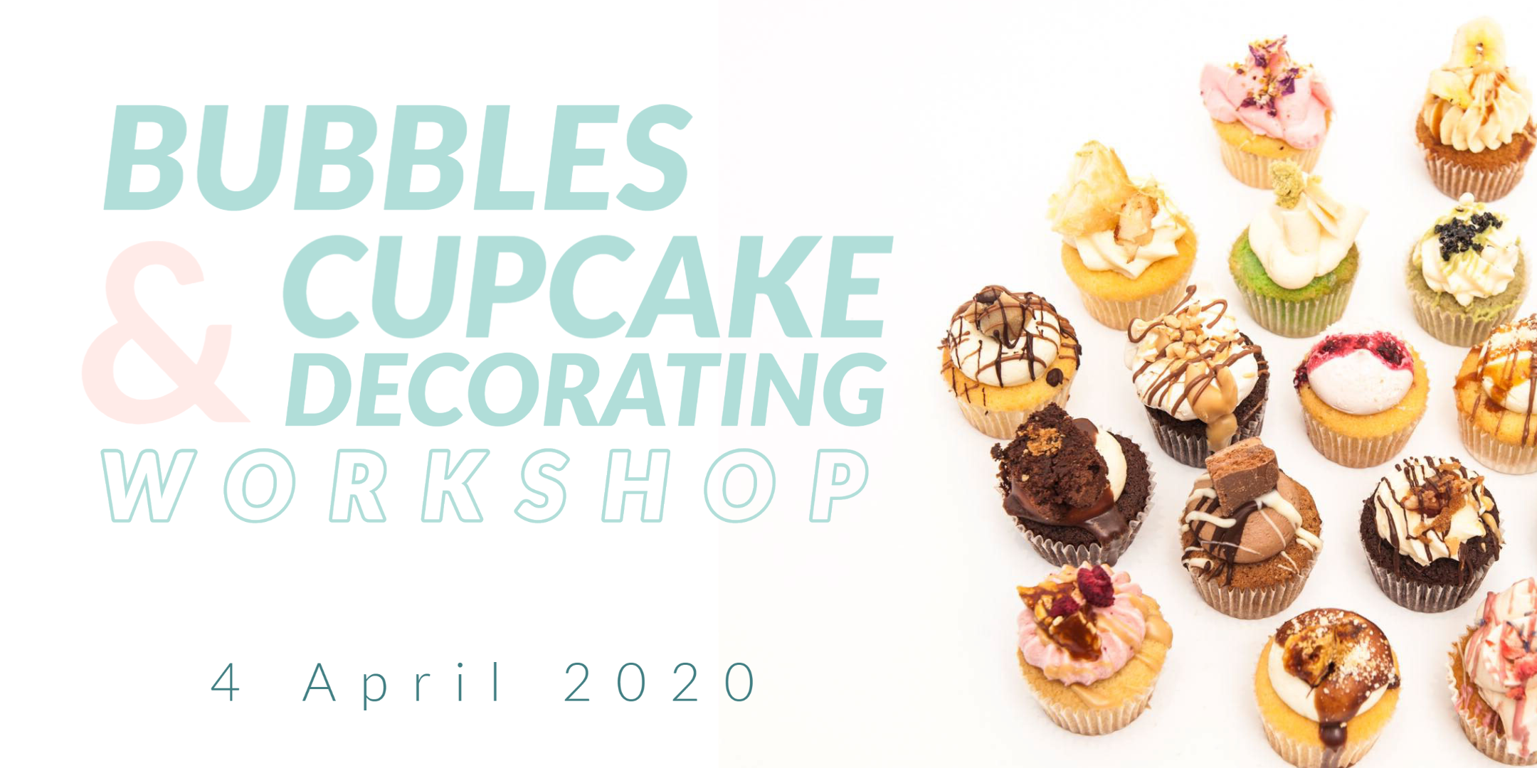 Bubbles and Cupcake Decorating Workshop