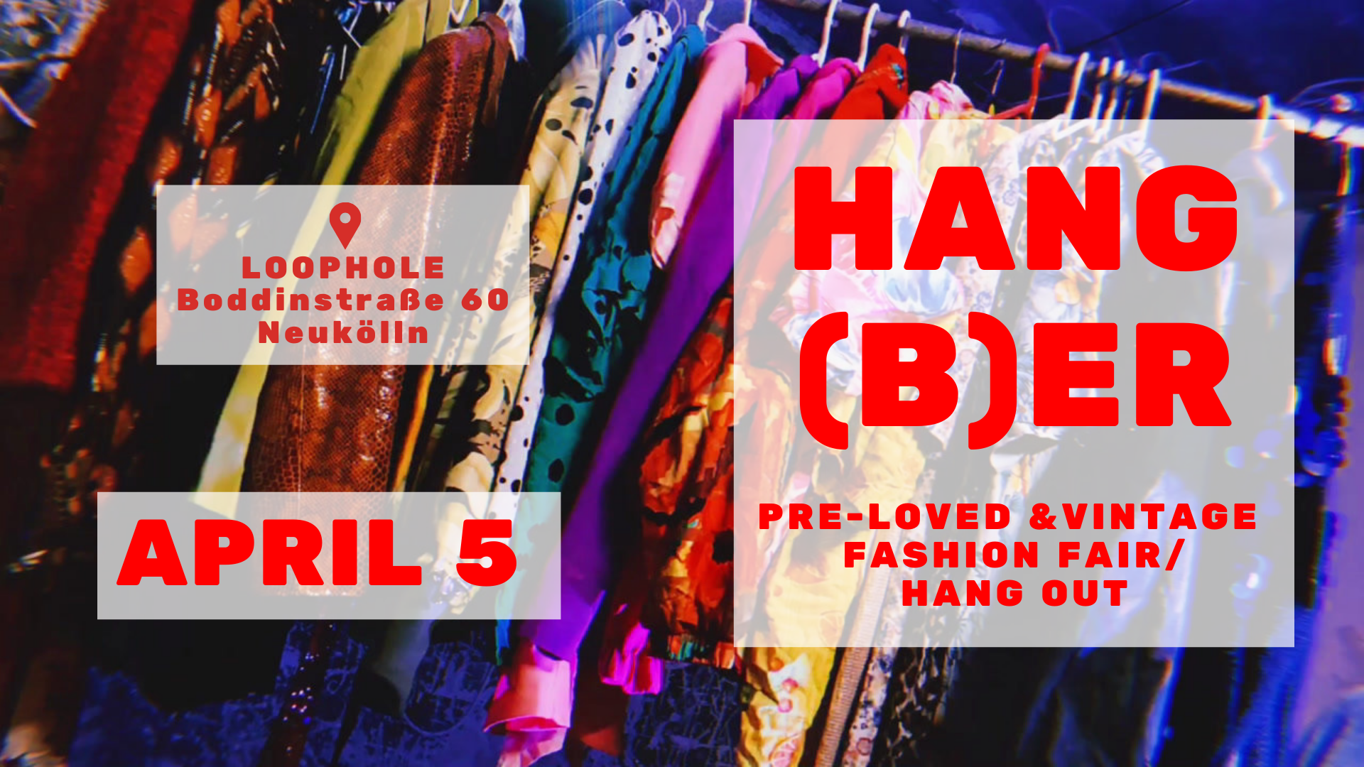 #HANGBER // pre-loved & vintage fashion fair and hang out