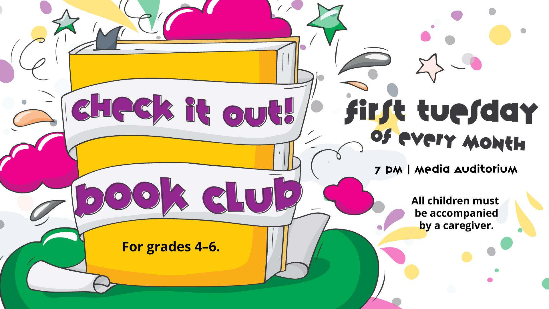 Check It Out! Children's Book Club