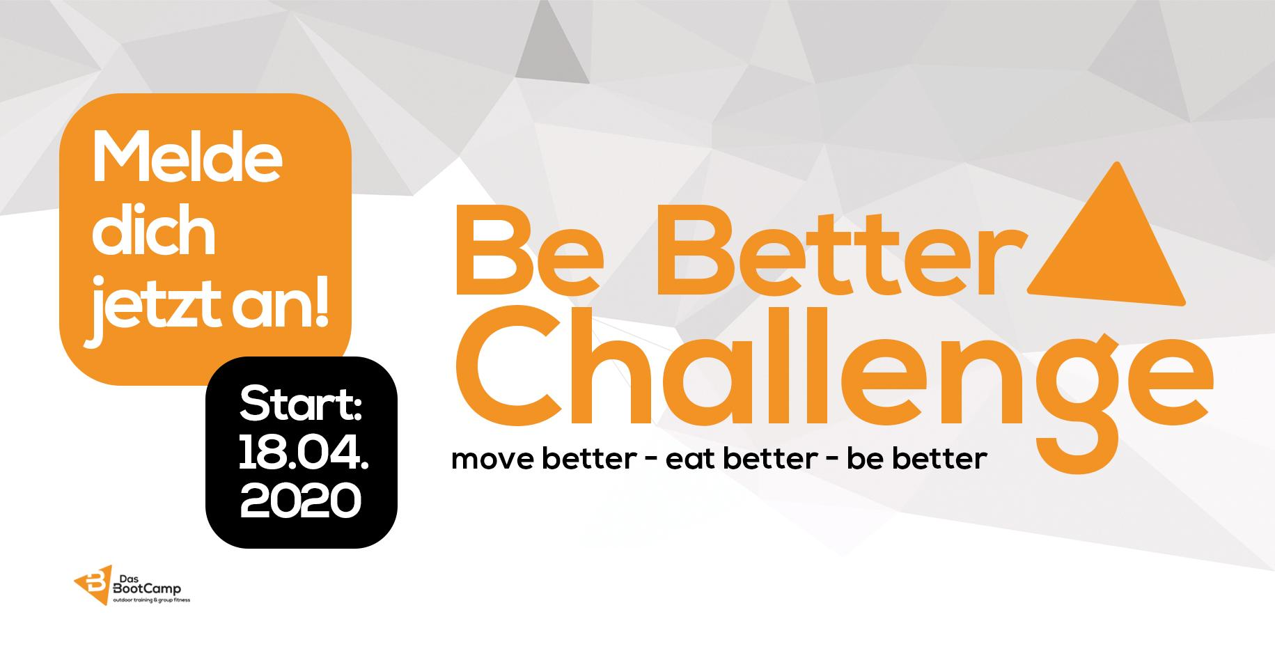 BE BETTER CHALLENGE
