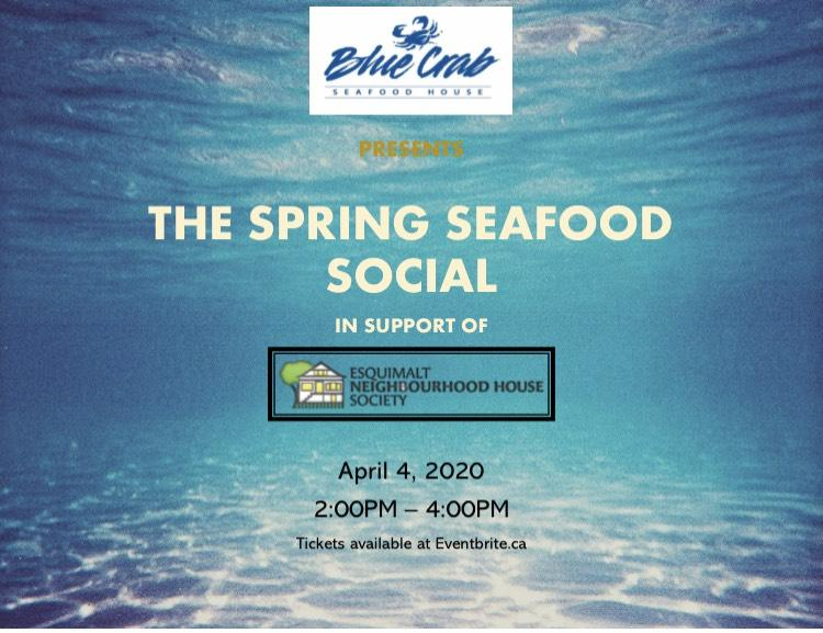 Blue Crab Seafood House presents the Spring Seafood Social