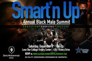"""Smart'n Up!"" Black Male Summit 2014"
