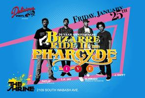 "Bizarre Ride II THE PHARCYDE ""LIVE"""