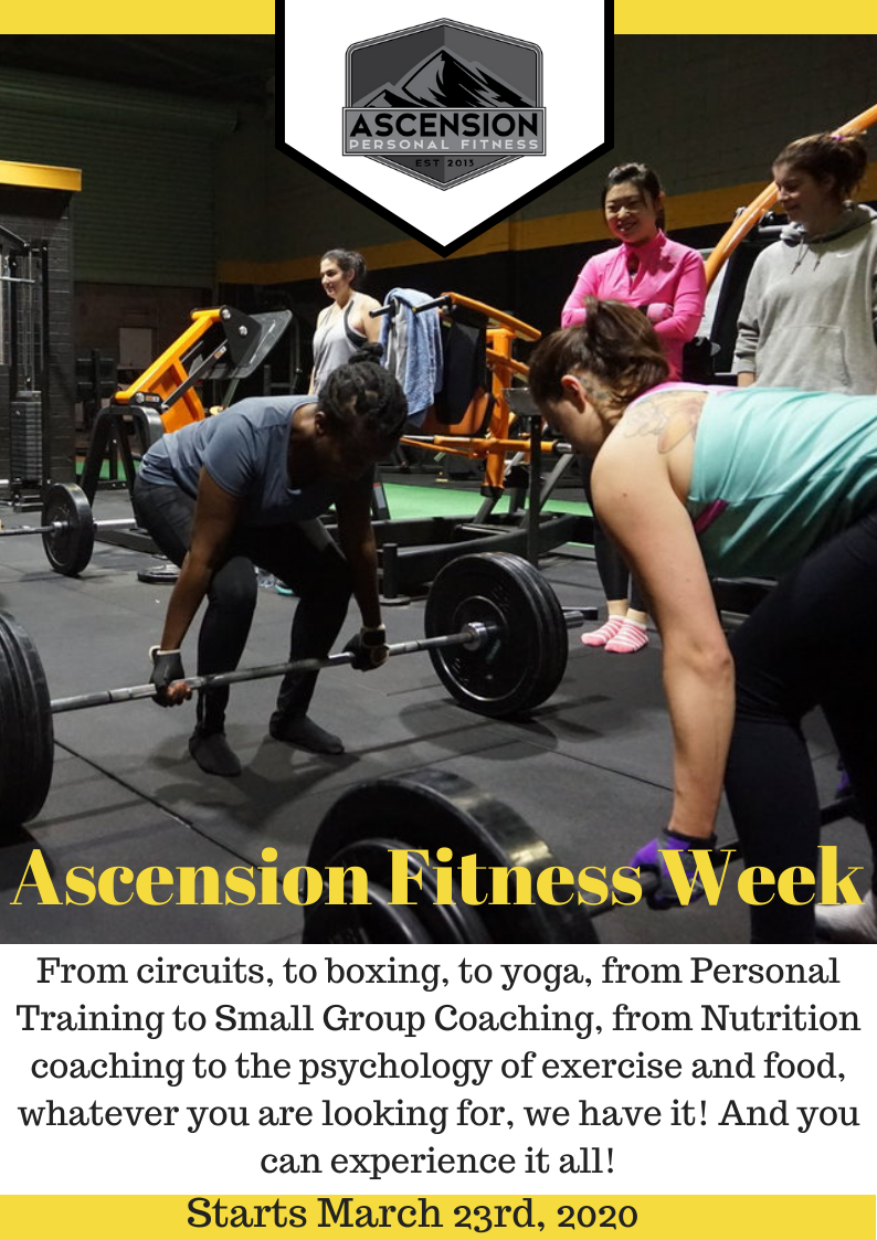 Ascension Fitness Week!