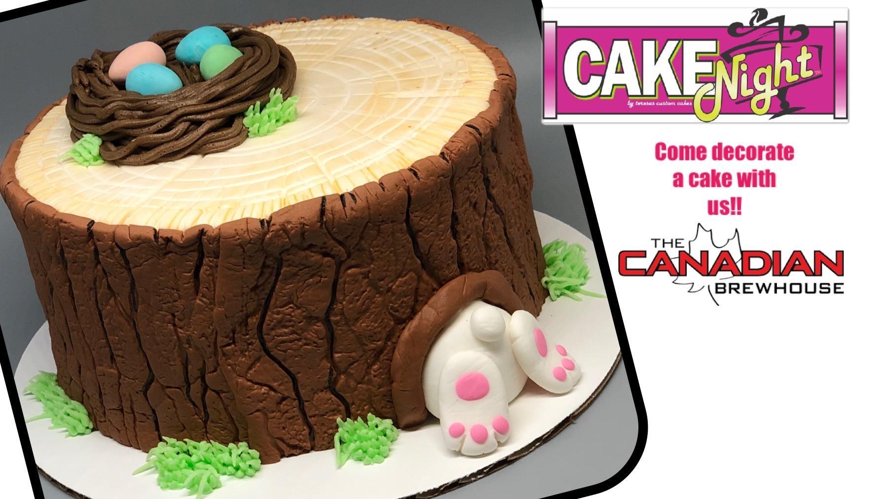 CakeNight - Sherwood Park - Bunny Stump