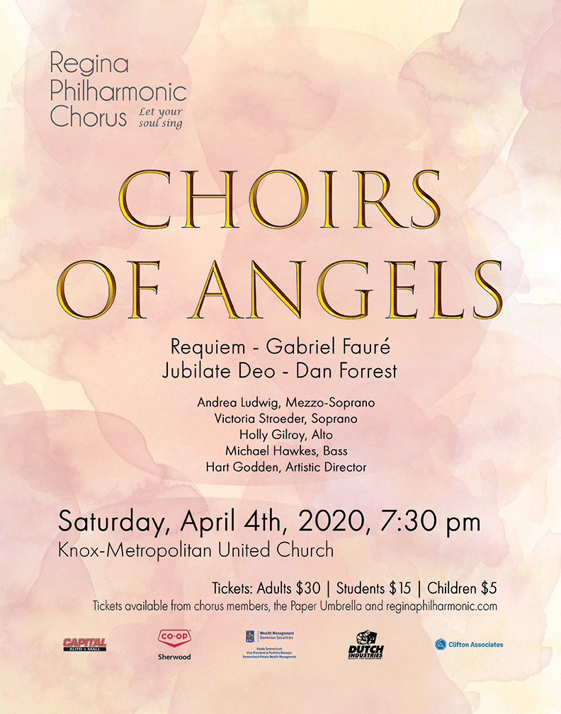 Choirs of Angels - Concert Cancelled