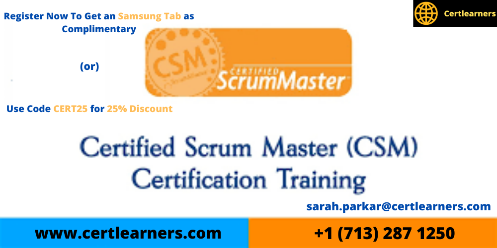 CSM 2 Days Certification Training in San Francisco, CA ,USA