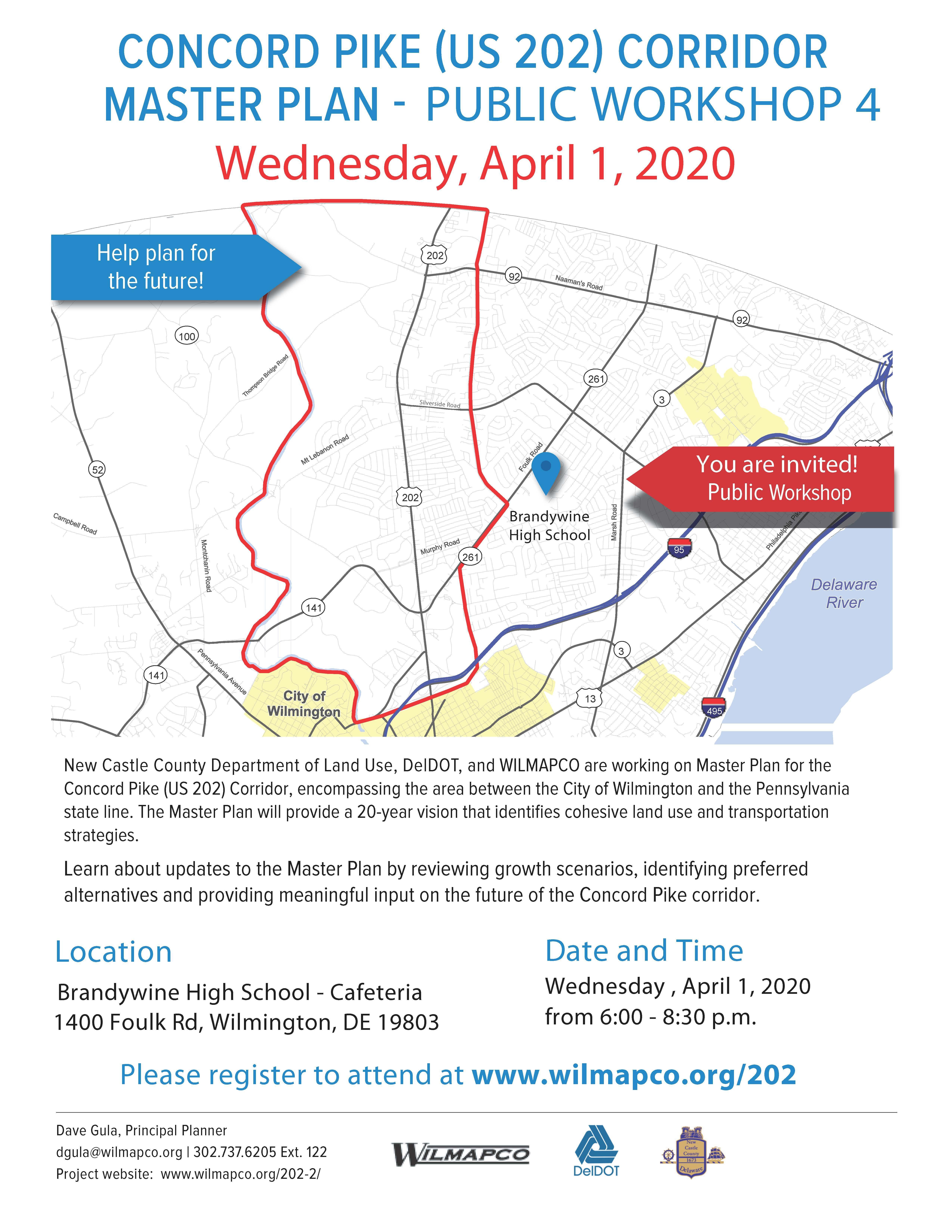 Concord Pike Master Plan Public Workshop