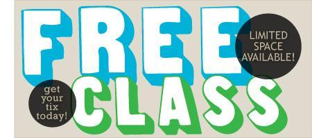 Jan.19 Free Introductory Class at 11:30am (Congress...