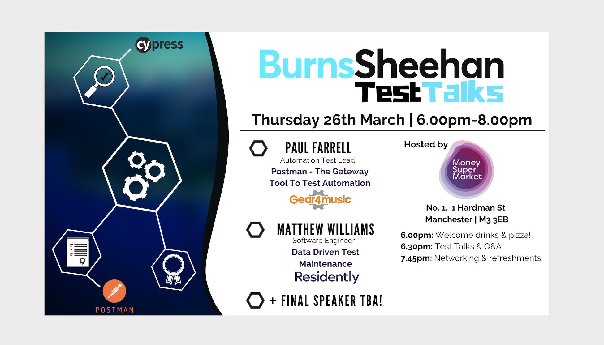 Burns Sheehan Test Talks