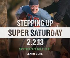 Stepping Up - a call to courageous manhood