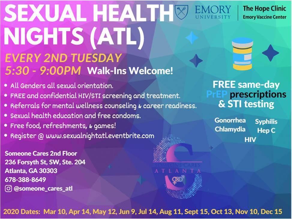 Sexual Health Night ATL