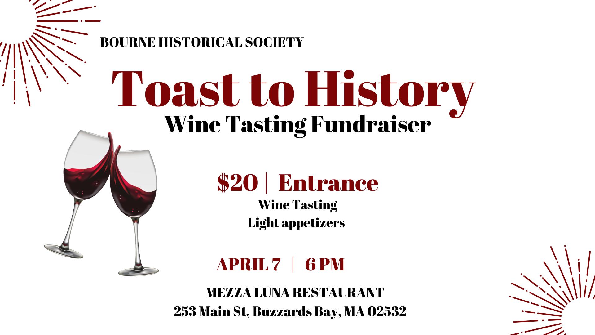 Toast to History Wine Tasting