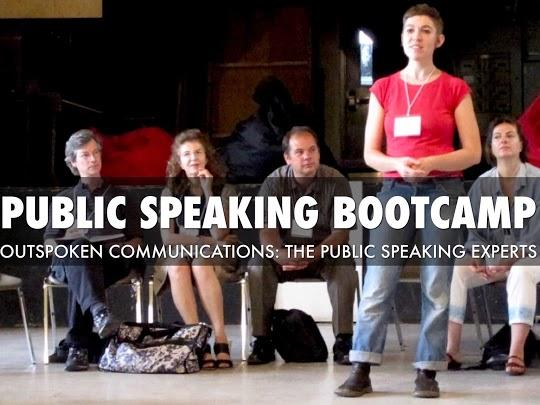 Fearless! Public Speaking Bootcamp 2020: April