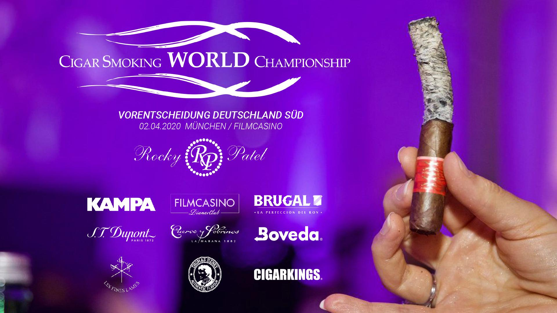 Cigar Smoking World Championship Munich Germany