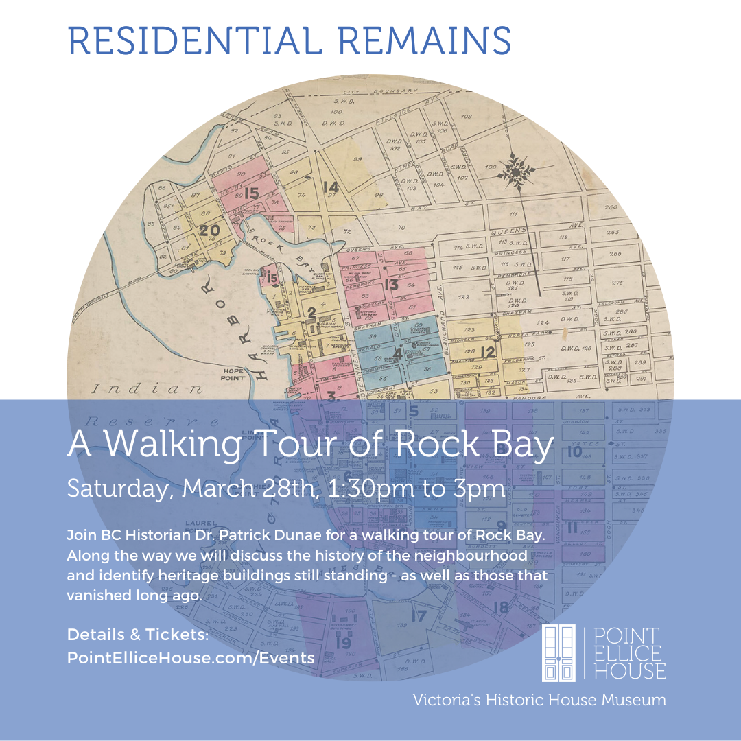 Residential Remains: A Walking Tour of Rock Bay