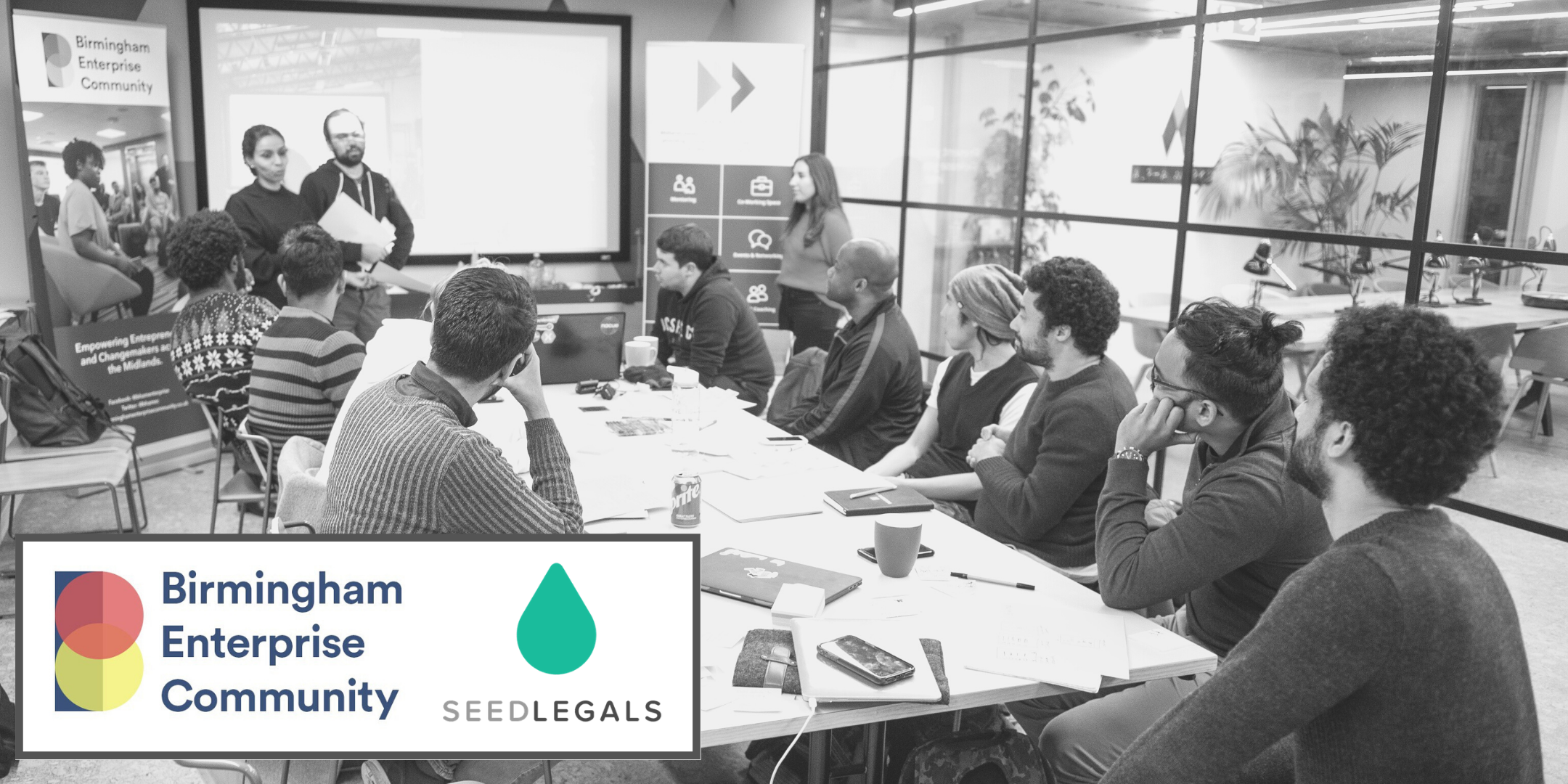 Birmingham Enterprise Community x SeedLegals: Company Creation Roadmap
