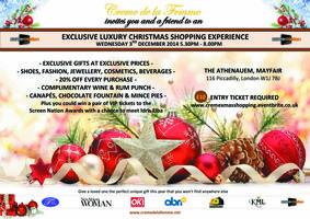 Creme de La Femme Exclusive Luxury Christmas Shopping E...