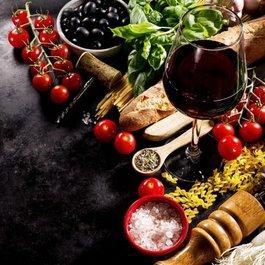 Wein im Fokus und Grana Padano