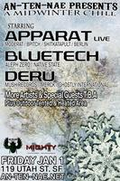 APPARAT LIVE & BLUETECH & MARTYPARTY & DERU TICKETS...