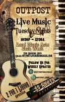 Outpost Hollywood Live Music Tuesday's