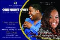 One Night Only Presents: D. Marq and Nia Simmons
