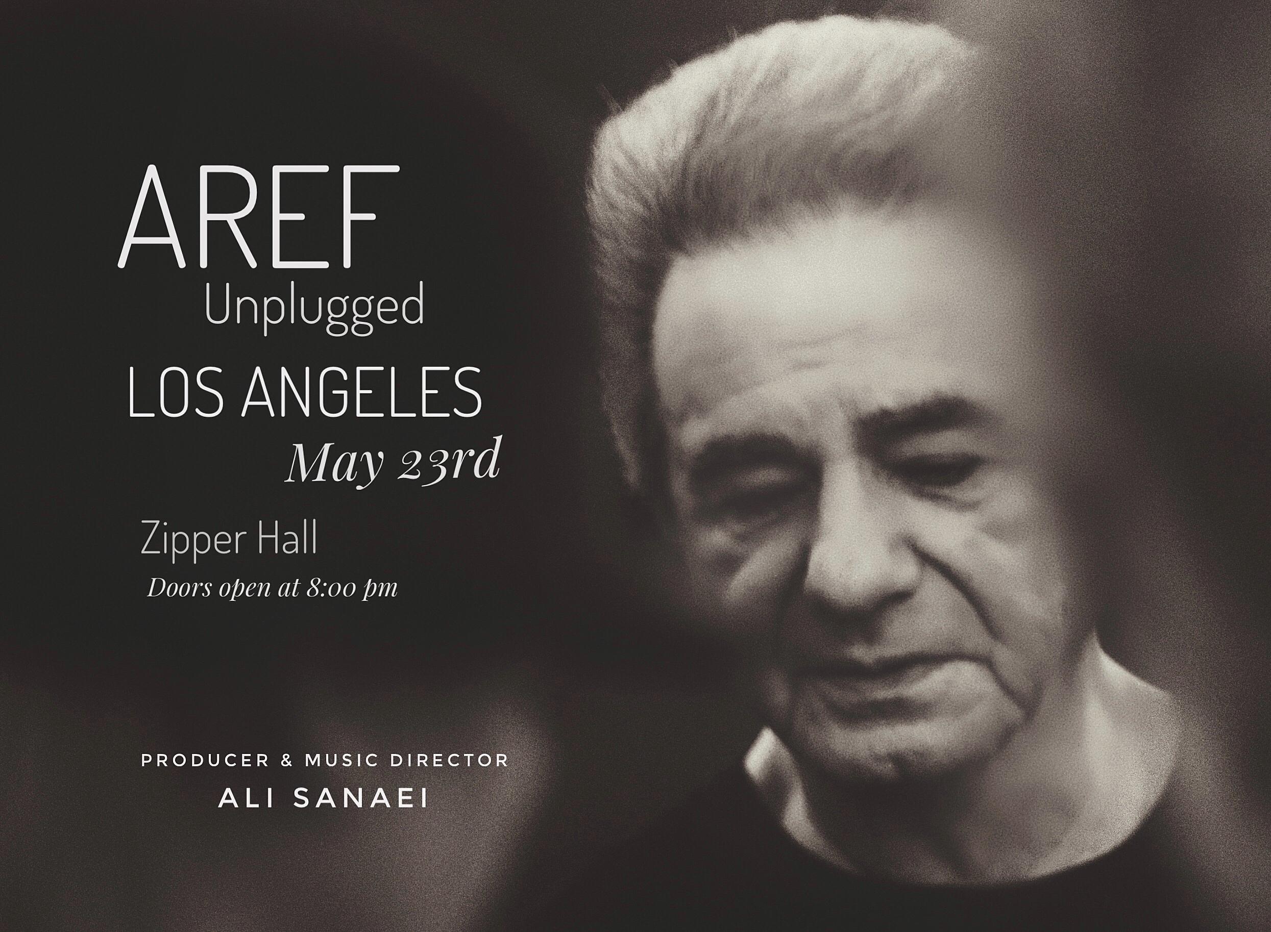 Aref Unplogged - Los Angeles